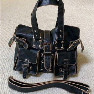 👜Matt & Nat black trendy crossbody satchel